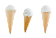 Icecream cone filled Stock Photo