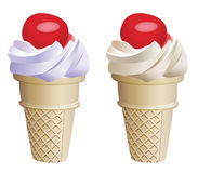 Icecream cones Royalty Free Stock Image