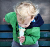 Icecream dream Stock Images