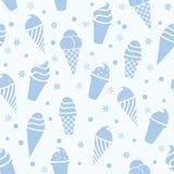 Icecream pattern, vector  Royalty Free Stock Image