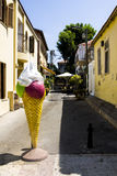 Icecreame na ulicie Stary Jaffa Fotografia Stock