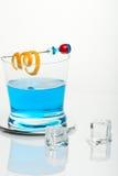 icecub rekin błękitny koktajlowym. Obrazy Royalty Free