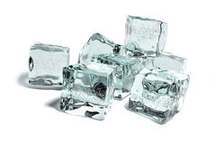 Icecubes Fotos de Stock Royalty Free