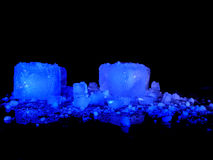 Icecubes Photo stock