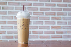 Iced blended cappuccino Stock Photos