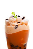 Iced blended coffee Royalty Free Stock Photography