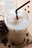 Iced blended frappucino Stock Photos