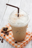 Iced blended frappucino Stock Image