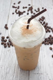 Iced blended frappucino Stock Images