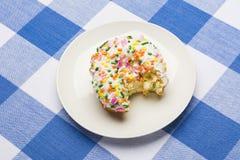 Iced cake donut Stock Image