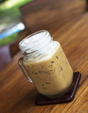 Iced Cappuccino coffee Royalty Free Stock Photos