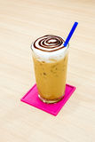 Iced cappuccino Royalty Free Stock Images