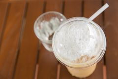 Iced cappuccino Royalty Free Stock Photo