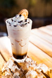 Iced Cappuccino Royalty Free Stock Image