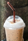 Iced cappuchino coffee Stock Image