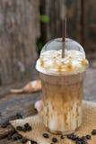 Iced Caramel Macchiato royalty free stock image