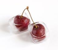 iced Cherry arkivfoto