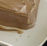 Iced chocolate cake Royalty Free Stock Photos