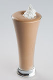 Iced chocolate coffee frappe drink Stock Image