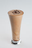Iced chocolate frappe Royalty Free Stock Image