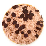 Iced Chocolate Pie Royalty Free Stock Photography
