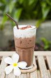 Iced chocolate. Stock Images