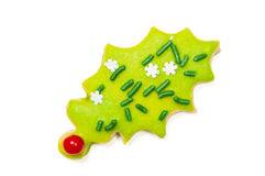 Iced Christmas Cookies Stock Photos