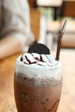 Iced cocoa Stock Images