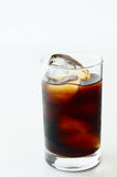 Iced Coffee. A glass of Iced Coffee Royalty Free Stock Image