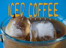 Iced Coffee Royalty Free Stock Photo