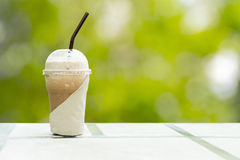 Iced coffee. Royalty Free Stock Images
