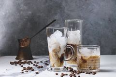 Free Iced Coffee Cocktail Stock Photo - 119566630