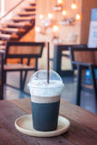 Iced coffee in coffee shop Stock Photography