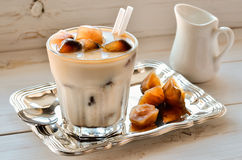 Iced coffee Stock Images