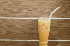 Iced coffee drink Royalty Free Stock Photo