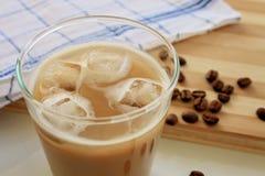 Iced coffee latte Stock Photo