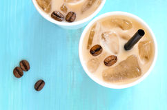 Iced coffee Stock Image