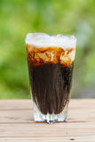 Iced coffee with milk Stock Photography