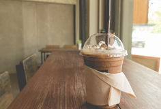 Iced coffee in relax time Stock Photo