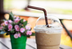 Iced coffee. In coffee restaurant Stock Photo