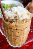 Iced coffee. Royalty Free Stock Photography