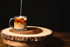 Iced Coffee For The Summer Stock Photography