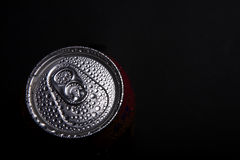 Iced cold can Royalty Free Stock Photos