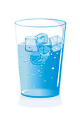 Iced Cold Water Royalty Free Stock Image