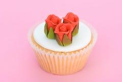Iced Cupcake Royalty Free Stock Photo