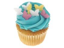 Iced Cupcake Stock Image