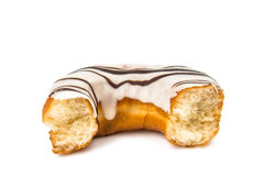 Iced donut isolated Royalty Free Stock Image