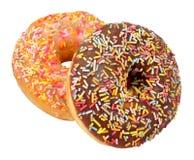 iced donuts Fotografering för Bildbyråer