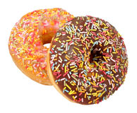 Iced Donuts Stock Image