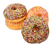 Iced Donuts Royalty Free Stock Image